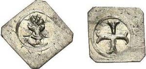 Augsburger Silber-Pfennig (ca. 0,7-0,8g) um 1400